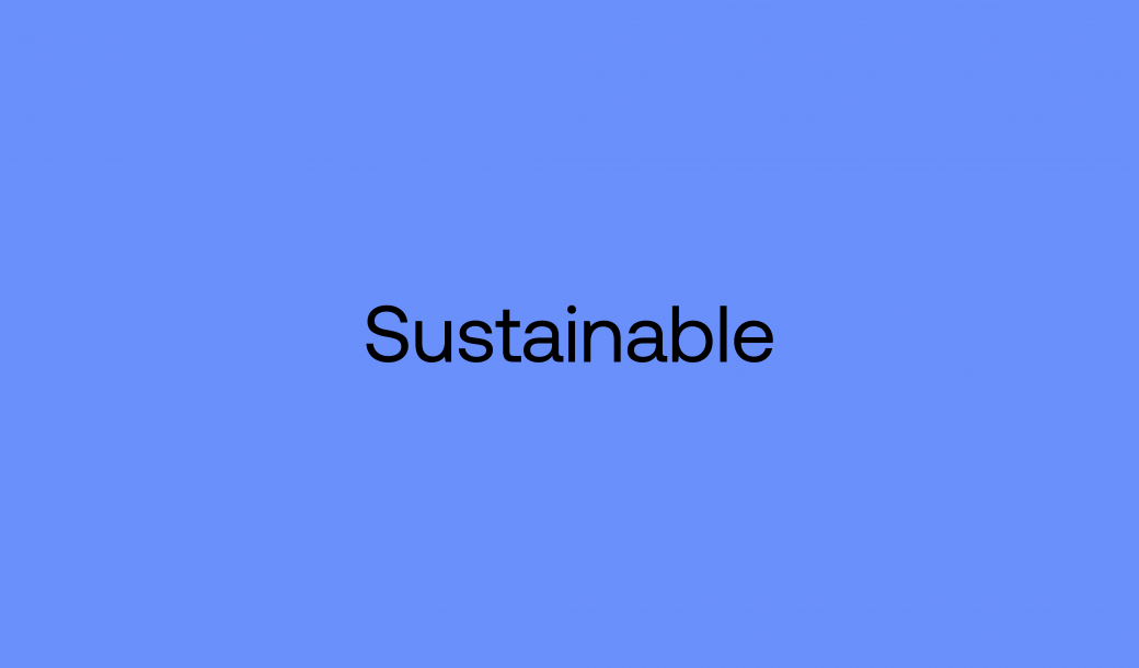 Sustainability blog post