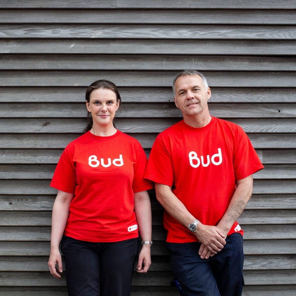 Bud Branded uniforms