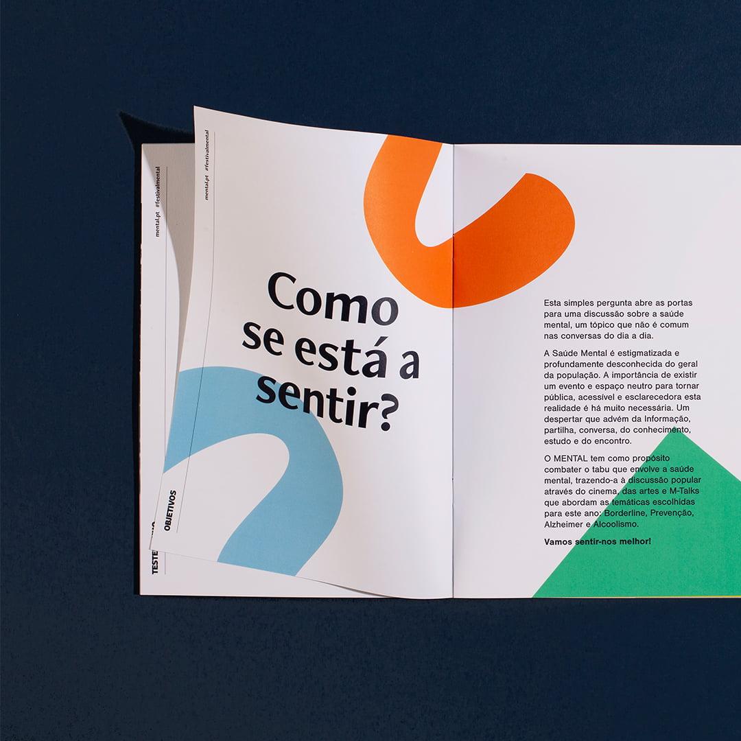 Mental brochure spread