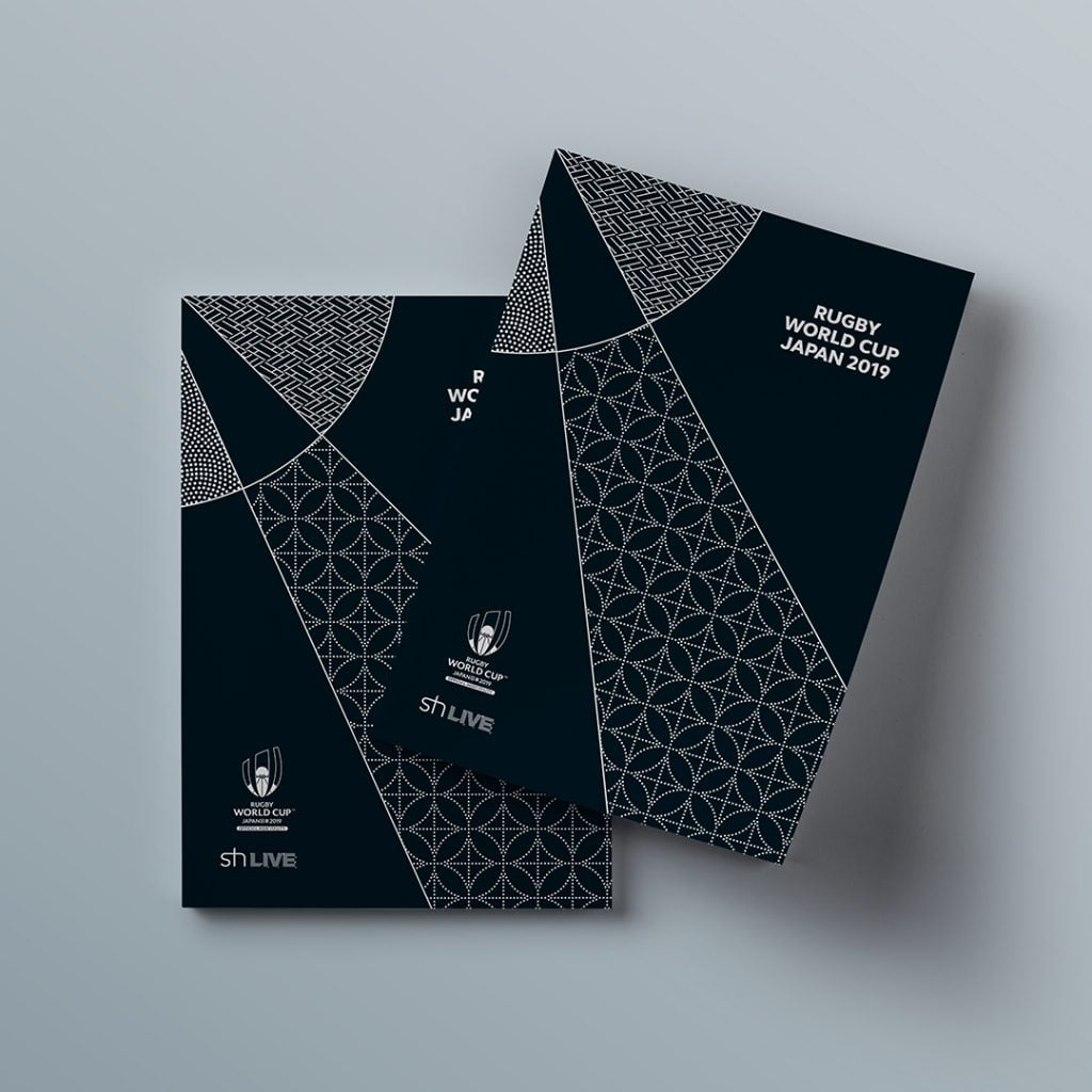 Rugby World Cup 2019 brochure cover