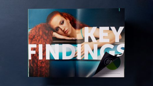 The SSE Hydro Key findings brochure spread
