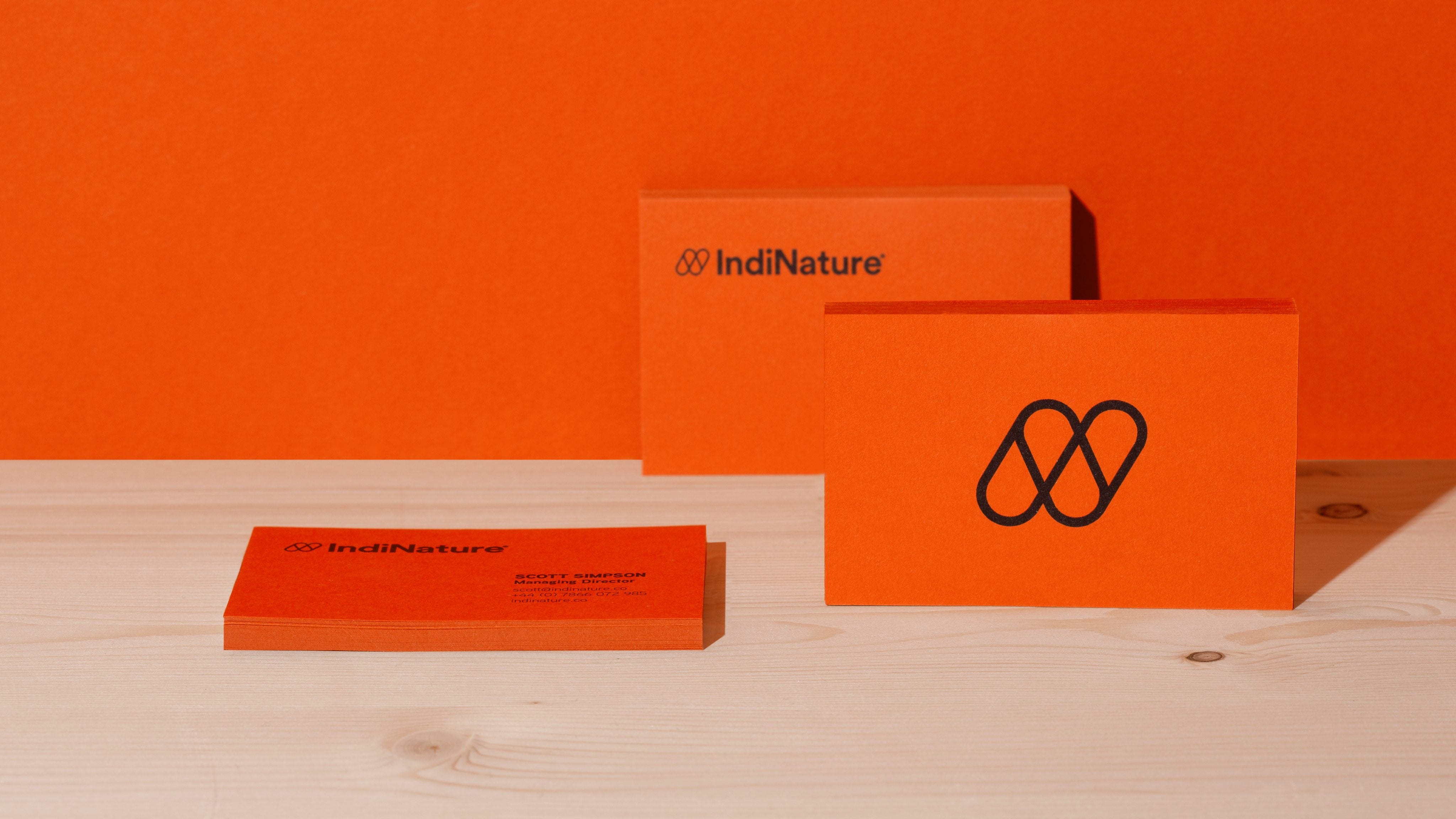 IndiNature business cards