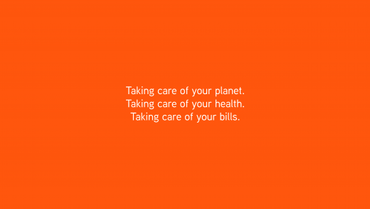 IndiNature slogan - Taking care of you planet. Taking Care of your health. Taking care of your bills.