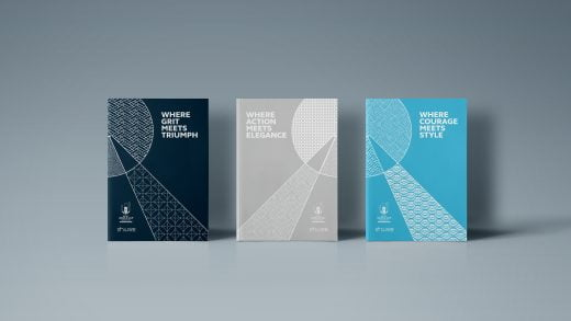 Rugby World Cup 2019 Direct Mail editorial design