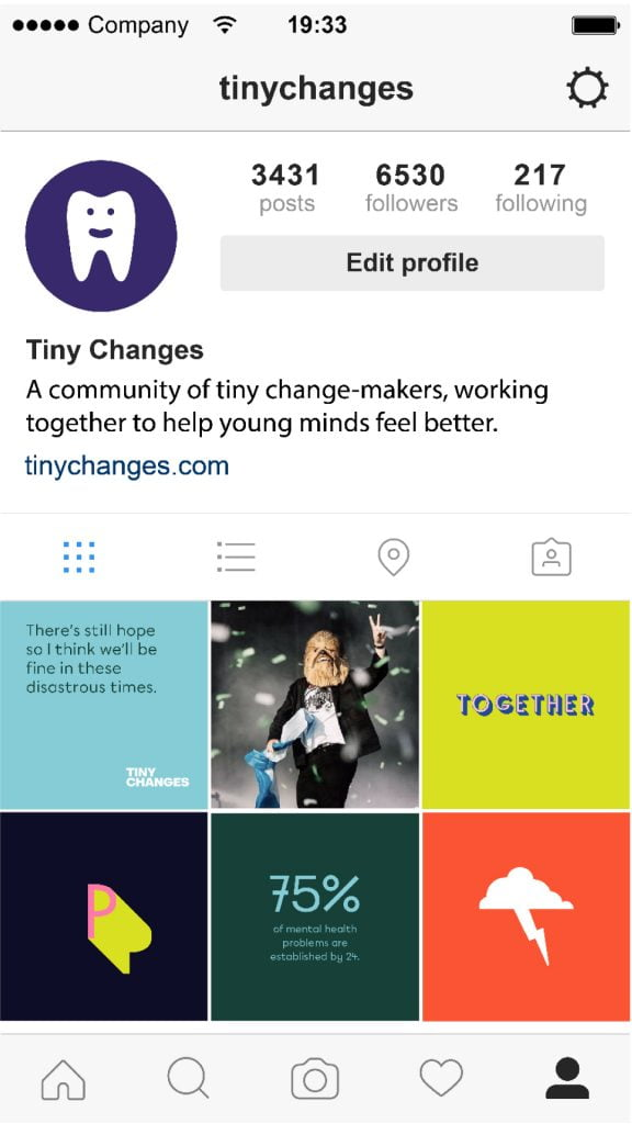 tiny changes social media