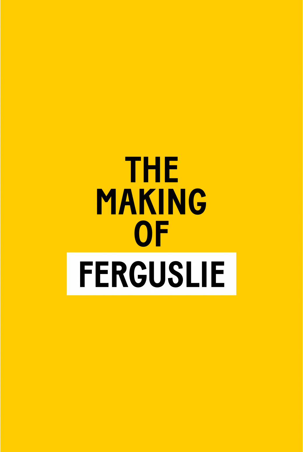 The making off logo