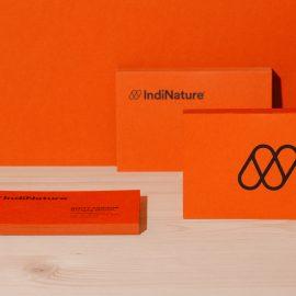 IndiNature business cards